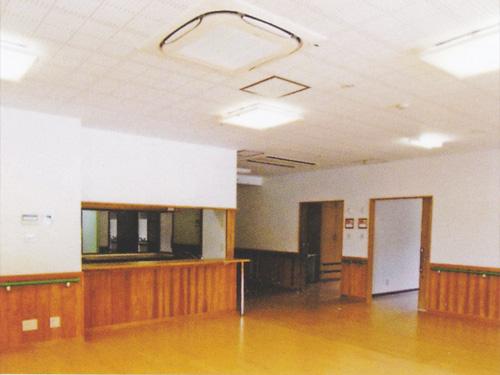 特別養護老人ホーム森の里 木精館(こだまかん)共同生活室
