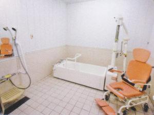 特別養護老人ホーム森の里 木精館(こだまかん)浴室(個浴)