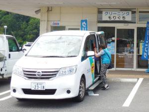 地域貢献事業 お買い物送迎無料バス